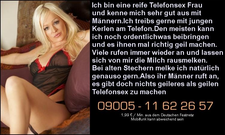 Telefonsex mit Männern